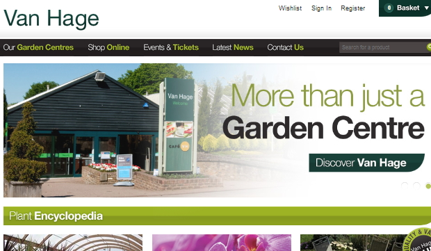 Project: Van Hage Garden Centre